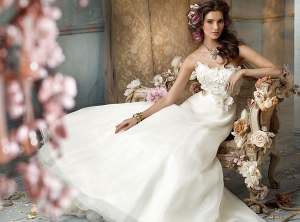 The History of the White Wedding Dress - wedding dresses, wedding ...