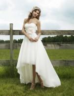Asymmetrical/Hi-Low Length wedding dress
