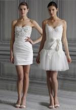 short-mini wedding dress