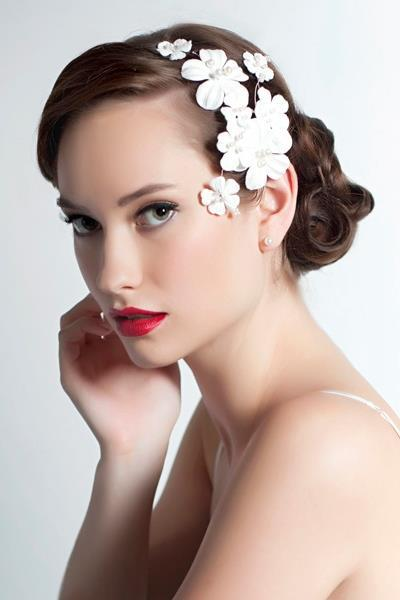 wedding headpiece choices profile headpiece
